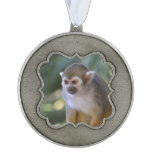 Amazing Squirrel Monkey Ornament
