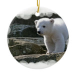 Baby Polar Bear Ornament