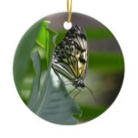 Butterfly Beauty Ceramic Ornament