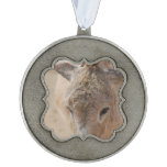 Donkey Pewter Ornament
