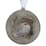 Face of Sloth Pewter Ornament
