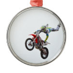 Freestyle Motocross Metal Ornament