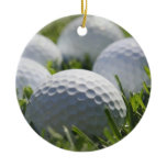 Golf Balls Ornament