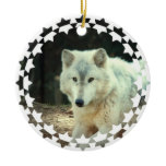 Gray Wolf Ornament