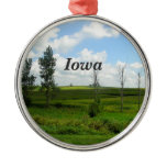 Iowa Metal Ornament