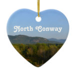 North Conway Ceramic Ornament