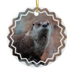 Otter Photo Ornament