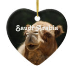 Saudi Arabian Camel Ceramic Ornament