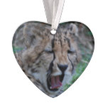 Sleepy Cheetah Cub Ornament