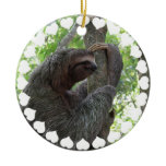 Tree Climbing Sloth Ornament