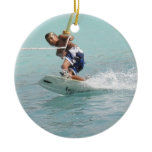Wakeboarding Turn ORnament